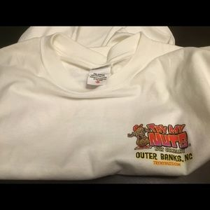 Anvil Shirts - 🆕 Try My Nuts Nut Co. Outer Banks NC Size Medium